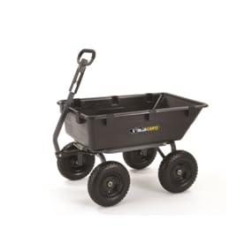 Amazon Com Gorilla Carts Gor6ps Heavy Duty Poly Yard Dump
