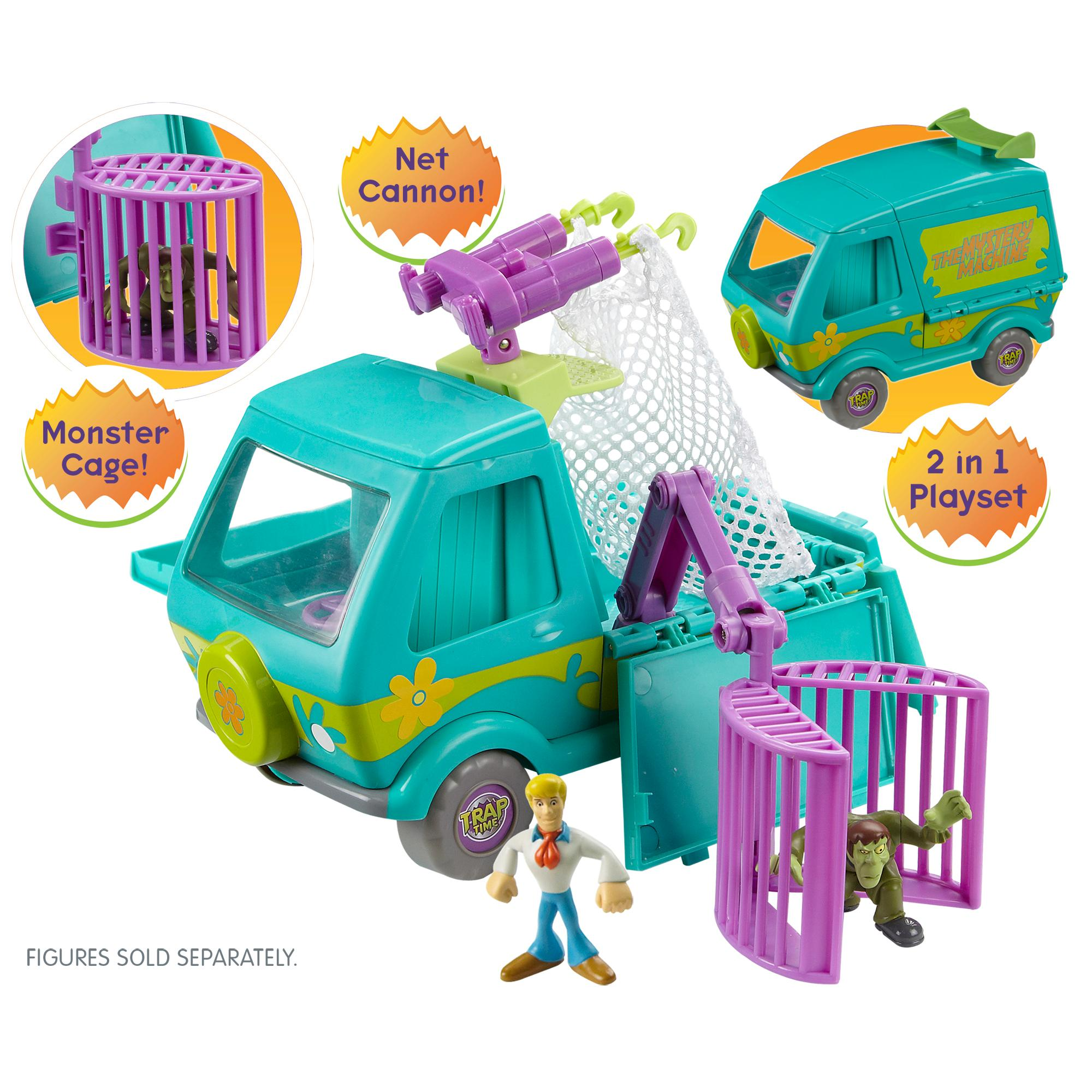 Scooby Doo Toys : Amazon scooby doo trap time deluxe mystery machine