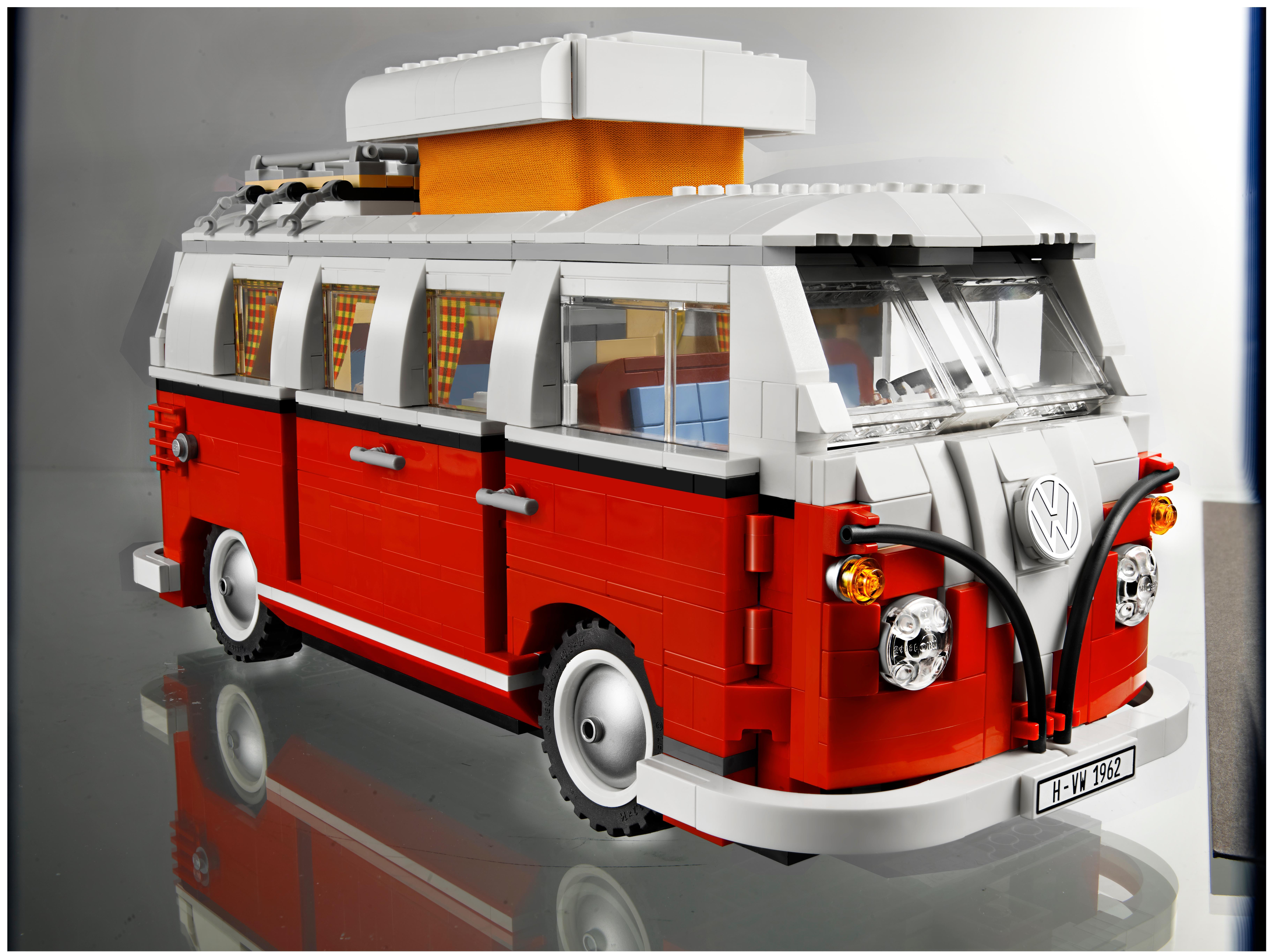 Amazon.com: LEGO Creator Volkswagen T1 Camper Van 10220: Toys & Games