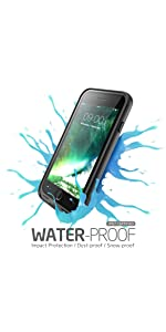 iphone 7 waterproof case, iphone 7 case, iphone 7 otterbox case, iphone 7 lifeproof case