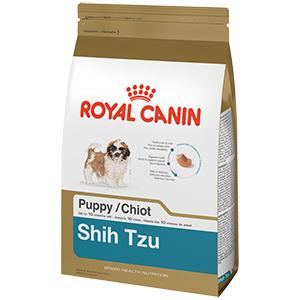 royal canin breed health nutrition shih tzu puppy dry dog food 2 5 pound pet supplies. Black Bedroom Furniture Sets. Home Design Ideas