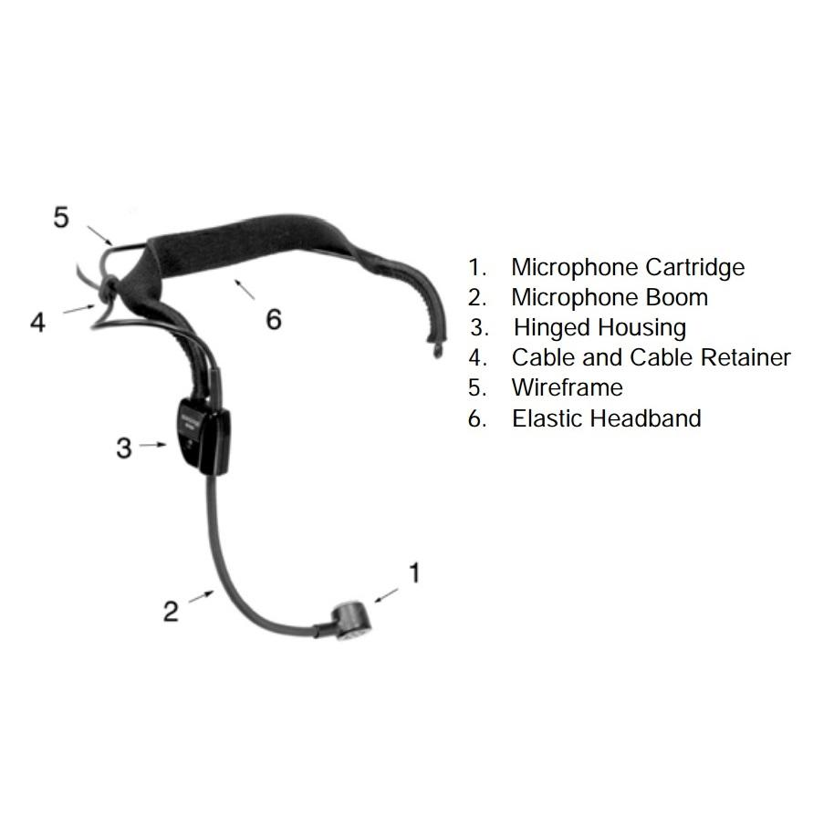 Amazon.com: Shure WH20QTR Dynamic Headset Microphone