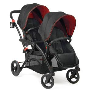 Amazon Com Contours Options Elite Tandem Stroller Red