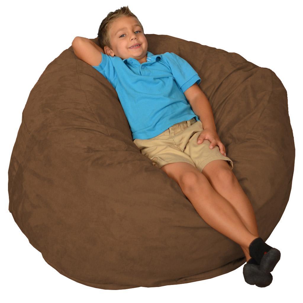 comfy sacks memory foam bean bag chair