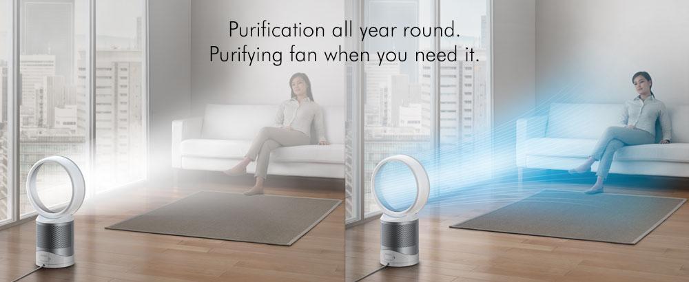 Amazon Com Dyson Pure Cool Link Desk Purifier 1st