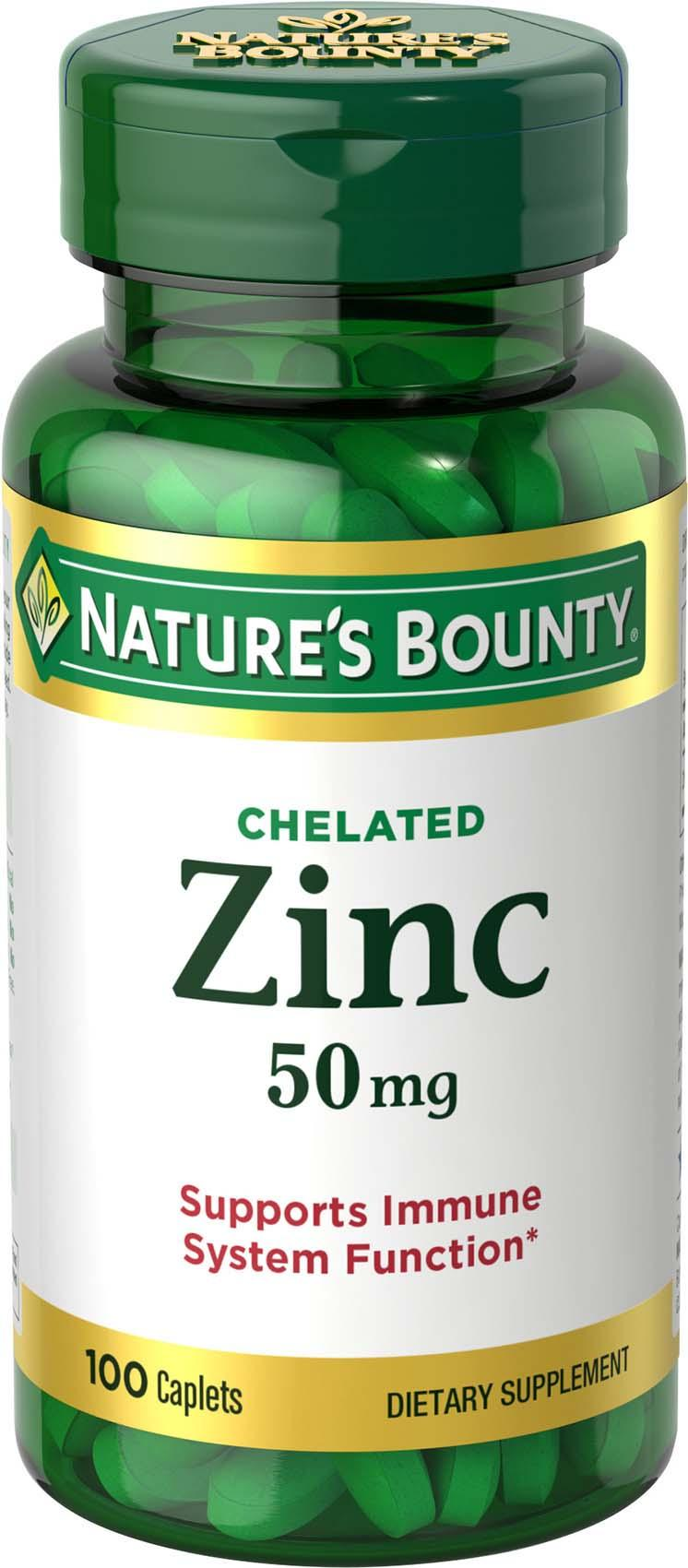 Nature S Bounty Zinc  Mg Reviews