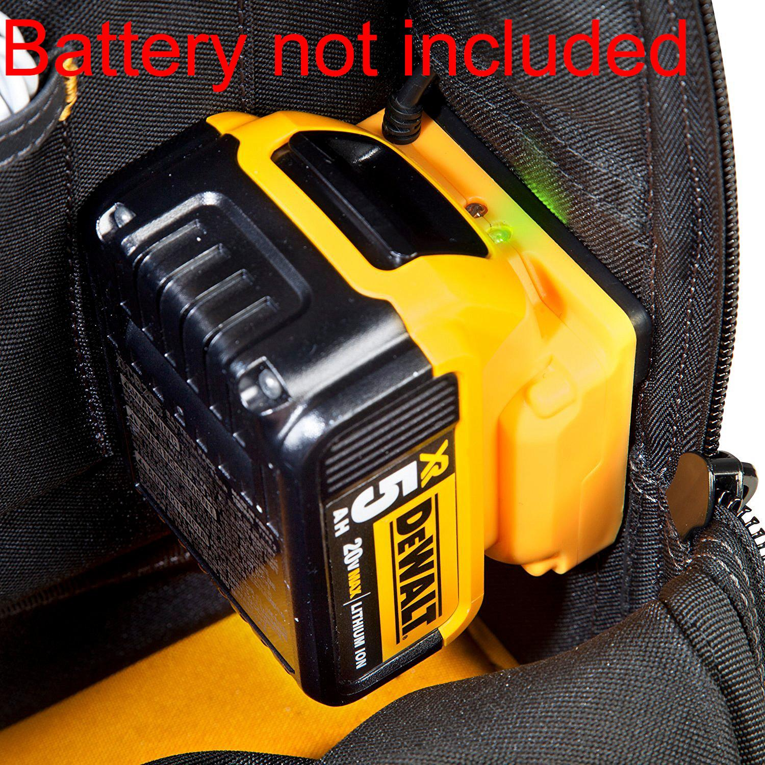Amazon Com Dewalt Dgcl33 33 Pocket Lighted Usb Charging