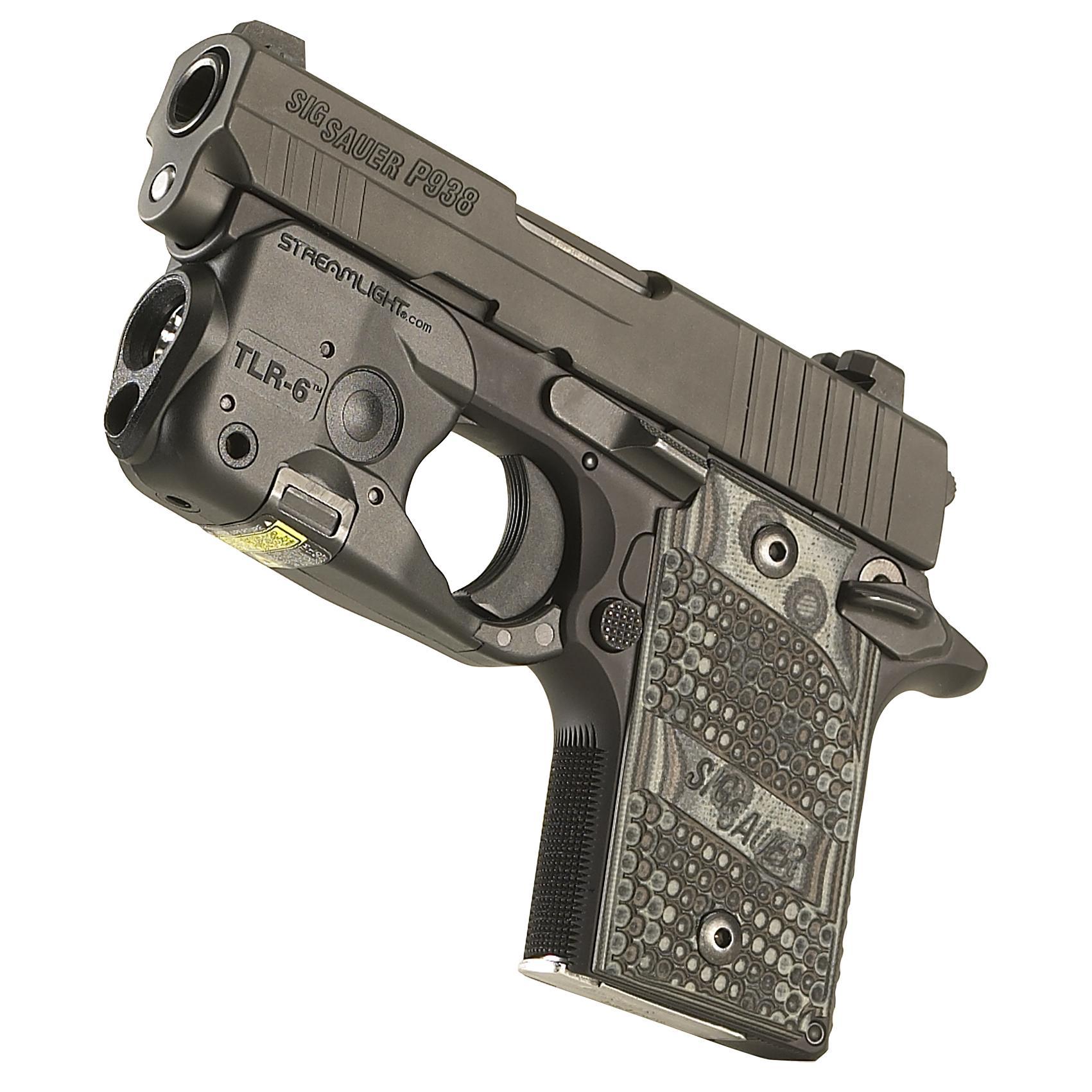 Streamlight 69275 Tlr 6 Tactical Pistol Mount Flashlight