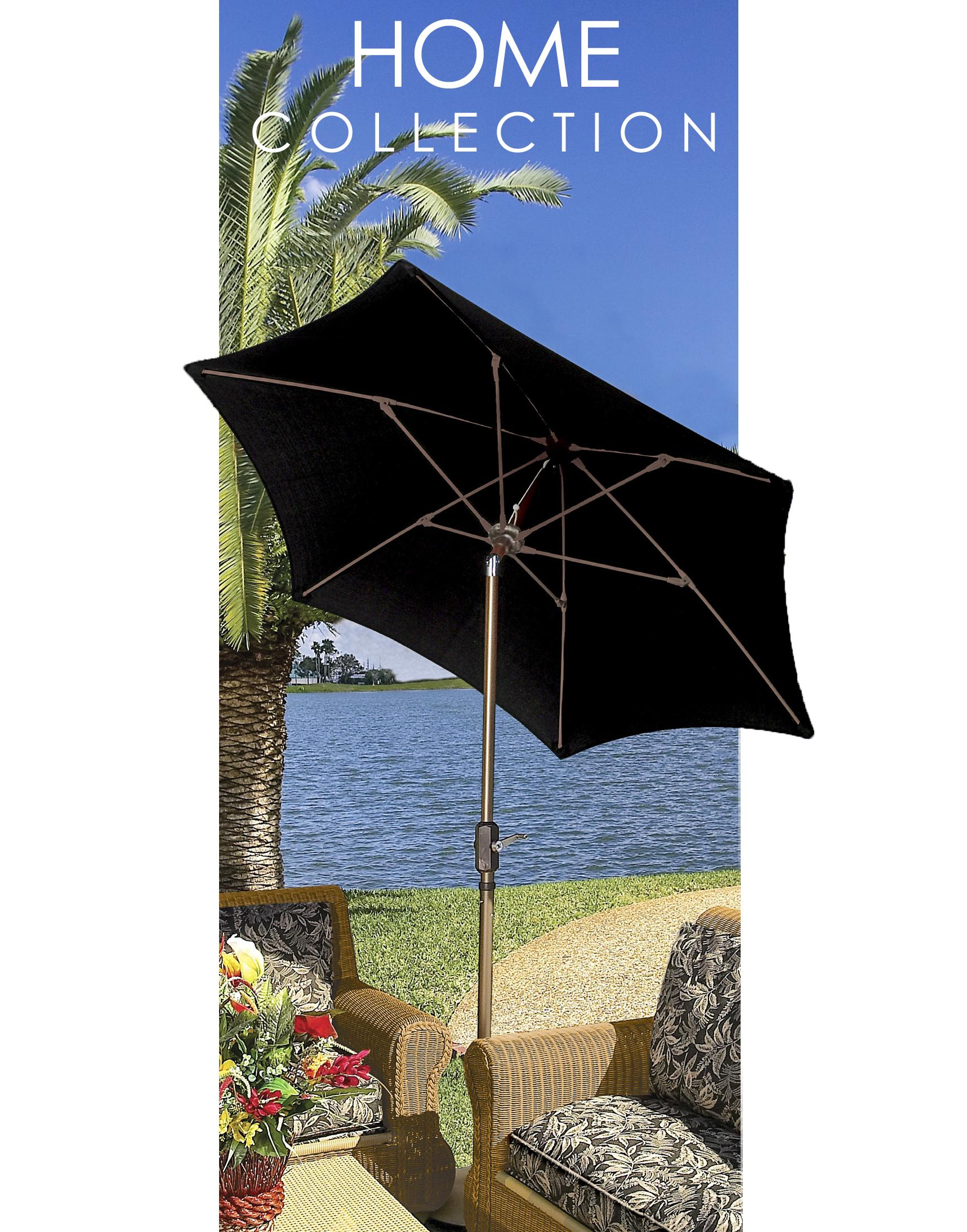 Fiberbuilt umbrellas terrace umbrella 9 foot for Terrace umbrellas