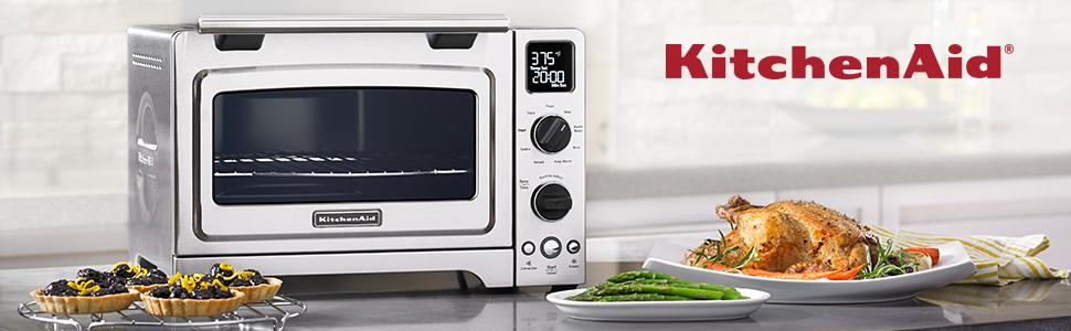 KitchenAid KCO275OB Convection 1800W Digital Countertop Oven 12