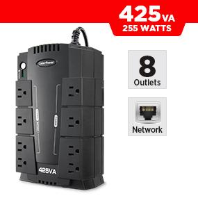 CyberPower CP425SLG Battery Backup UPS