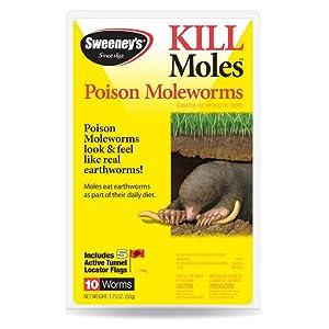 Amazon Com Sweeney S S6009 Poison Moleworms 2 29 Oz