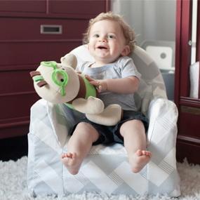 Amazon Com P Kolino Little Reader Chair Light Blue Baby