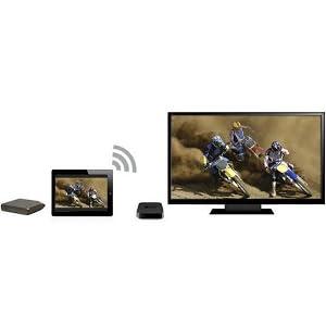 LaCie FUEL 1 Wireless Storage with Wi-Fi 802.11 b/g/n and USB 3.0 (9000436U)