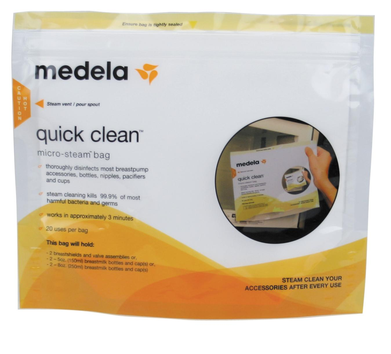 697361efa161 Amazon.com   Medela Quick Clean Micro-Steam Bags   Breast Pump ...