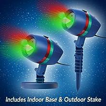star shower as seen on tv motion laser lights. Black Bedroom Furniture Sets. Home Design Ideas