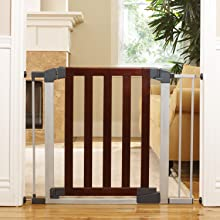 Amazon Com Munchkin Auto Close Modern Baby Gate Dark