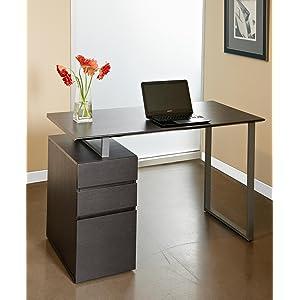Amazoncom Unique Furniture 220ESP Writing Desk with Drawers