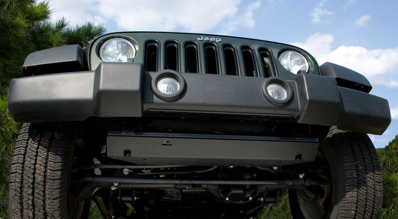 View larger & Amazon.com: Rugged Ridge 18003.30 Black Front Skid Plate: Automotive