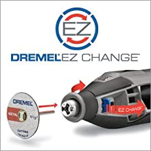 how to take off dremel ez change removal