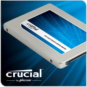 Crucial BX100 SSD image