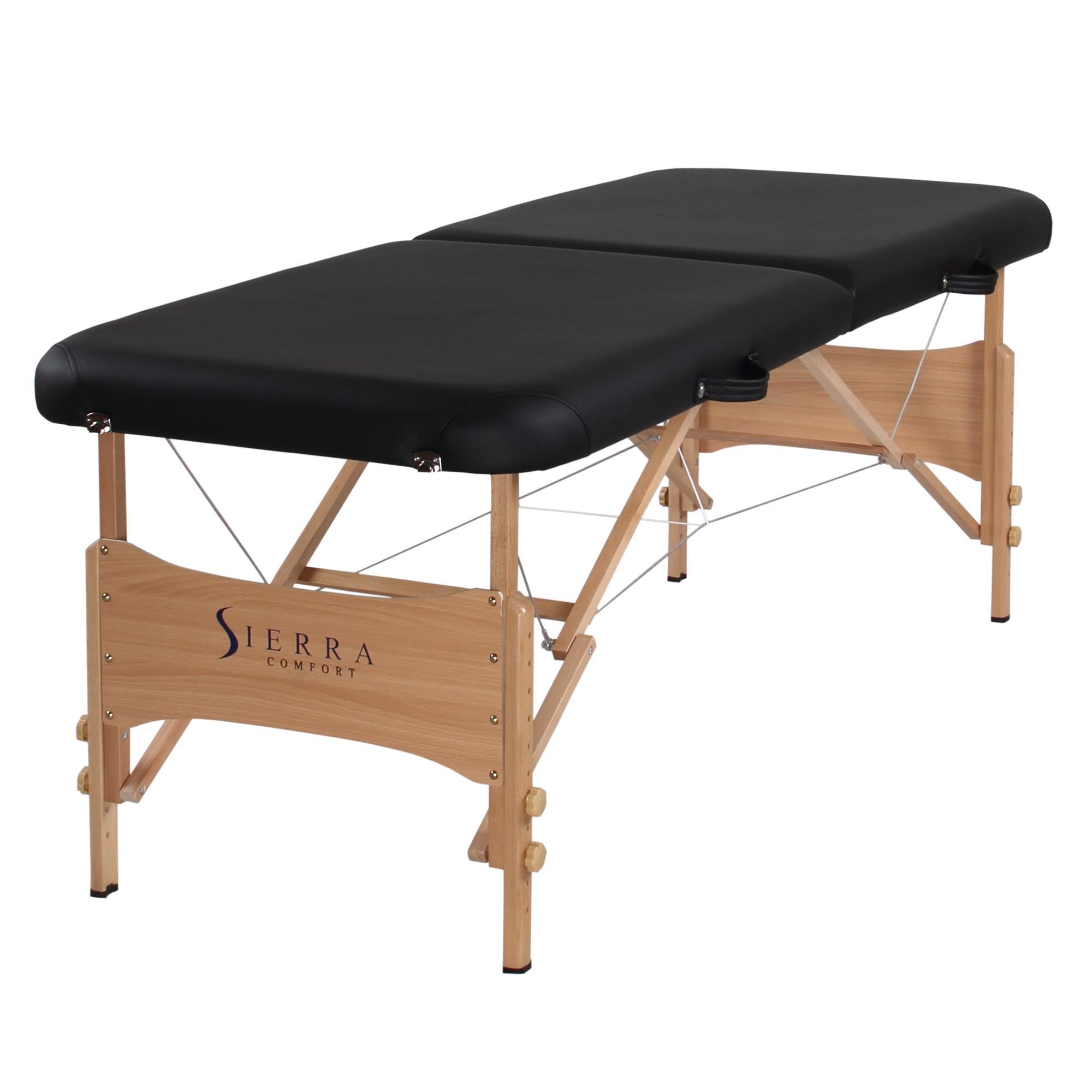 Lightweight portable massage table - Sierra Comfort Sc 500 Basic Folding Portable Massage Table