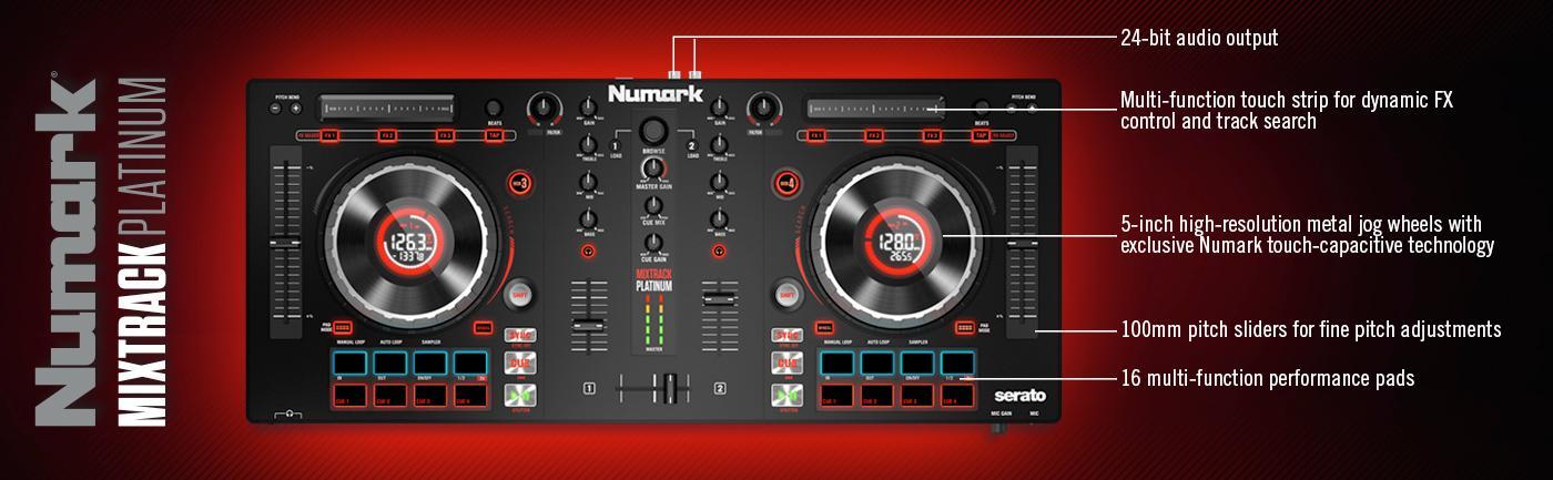 Amazon.com: Numark Mixtrack Platinum | 4-channel DJ