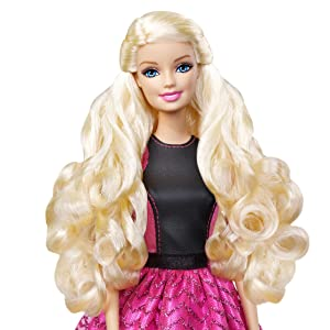 Cool Amazon Com Barbie Endless Curls Doll Discontinued By Short Hairstyles For Black Women Fulllsitofus