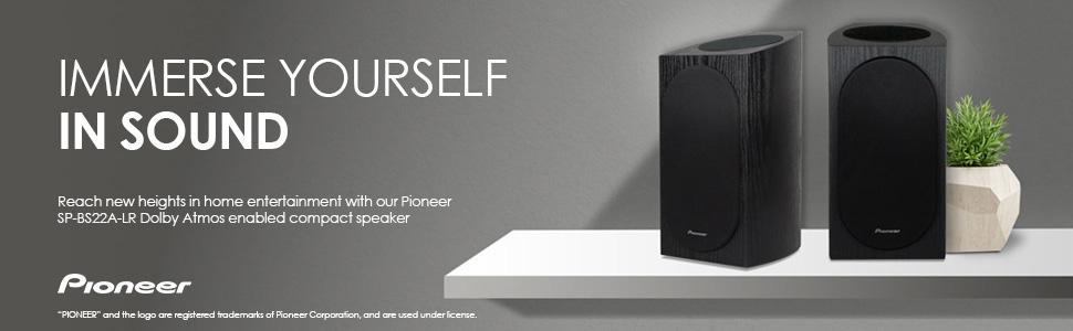 Amazon Pioneer SP BS22A LR Andrew Jones Designed Dolby Atmos
