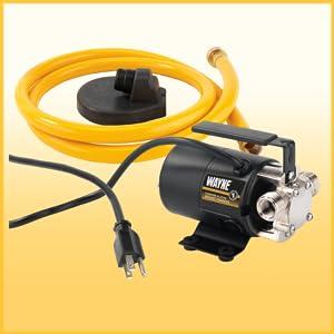 WAYNE RUP160 1/6 HP Oil Free Submersible Multi-Purpose