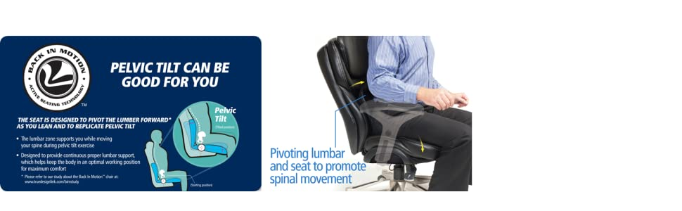 Back In Motion Active Seating Technology