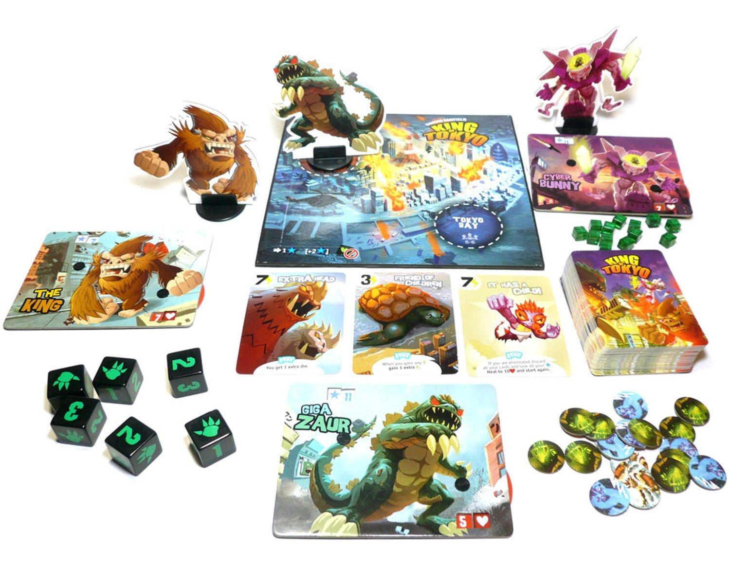 Japanese Toys And Games : Amazon king of tokyo board game first edition toys