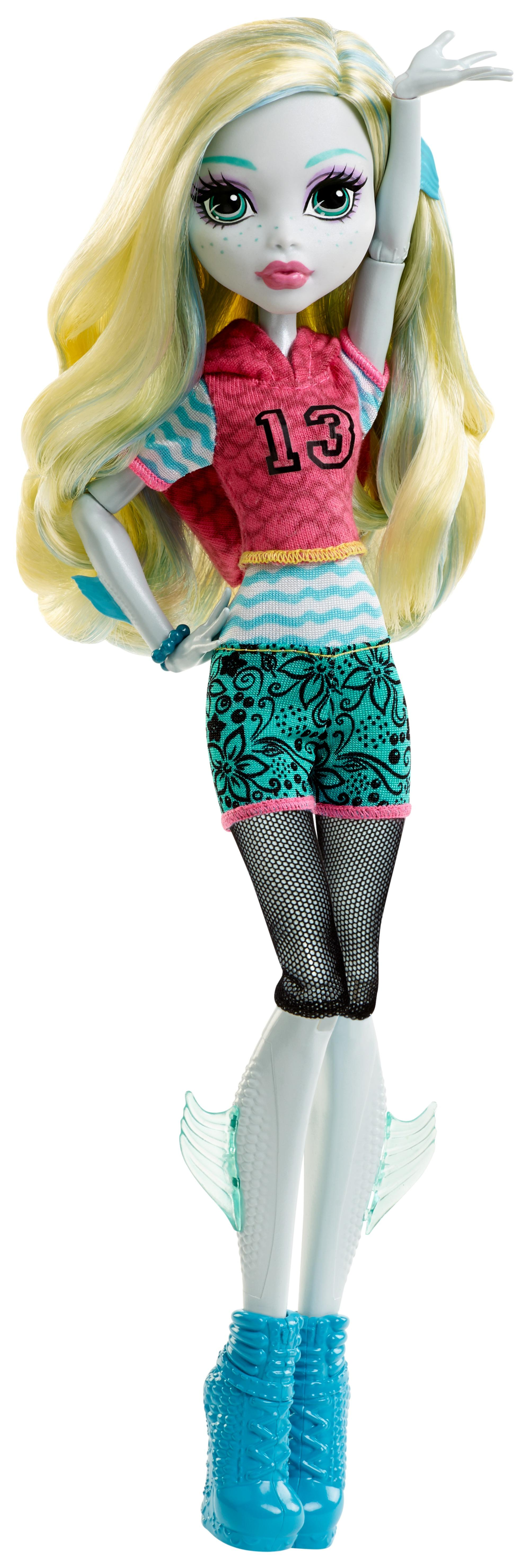 Monster High Toys : Amazon monster high signature look core lagoona blue