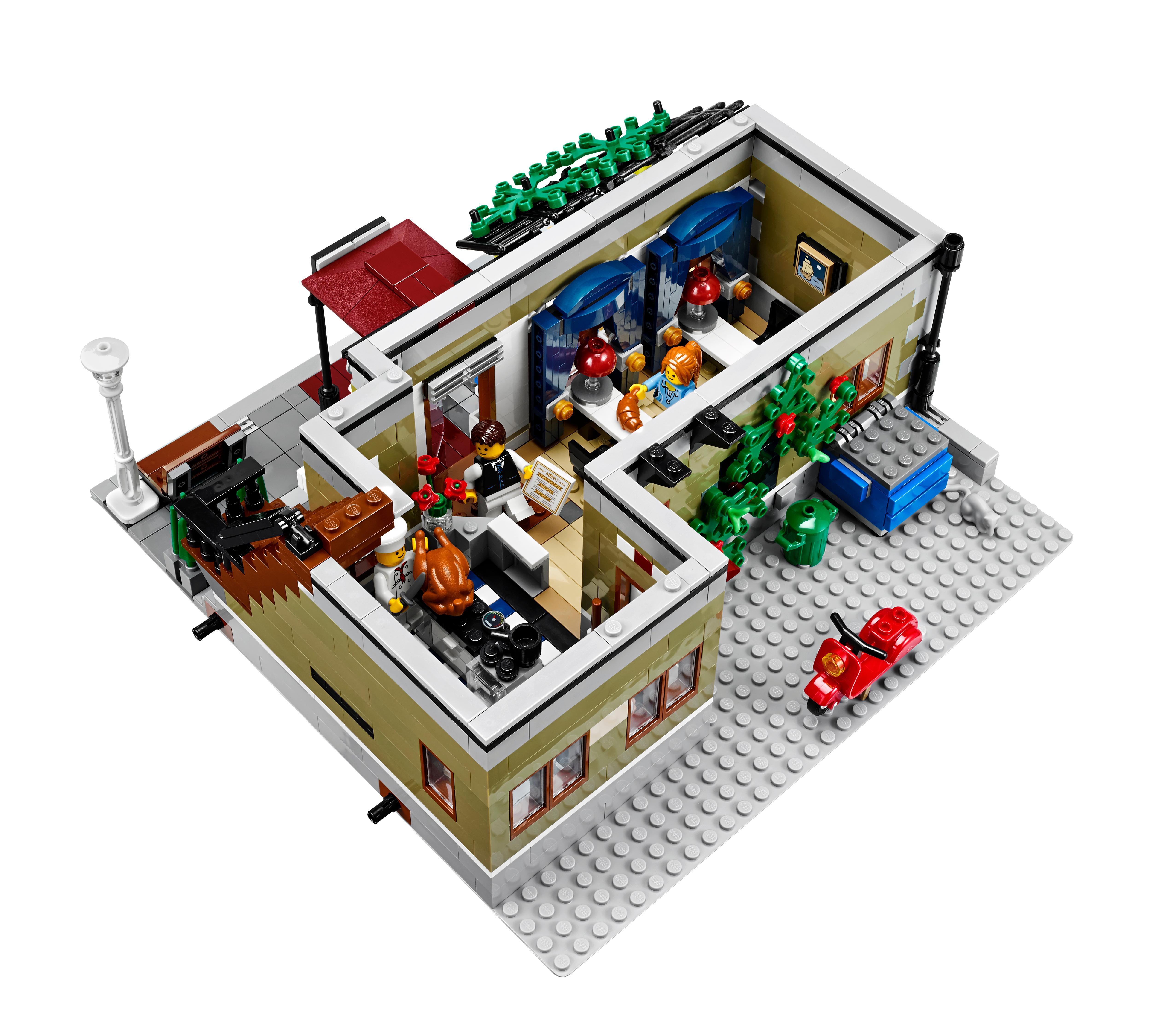 Amazon LEGO Creator Expert Parisian Restaurant Toys