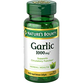 Garlic has been traditionally used to support heart and cardiovascular health by helping maintain h