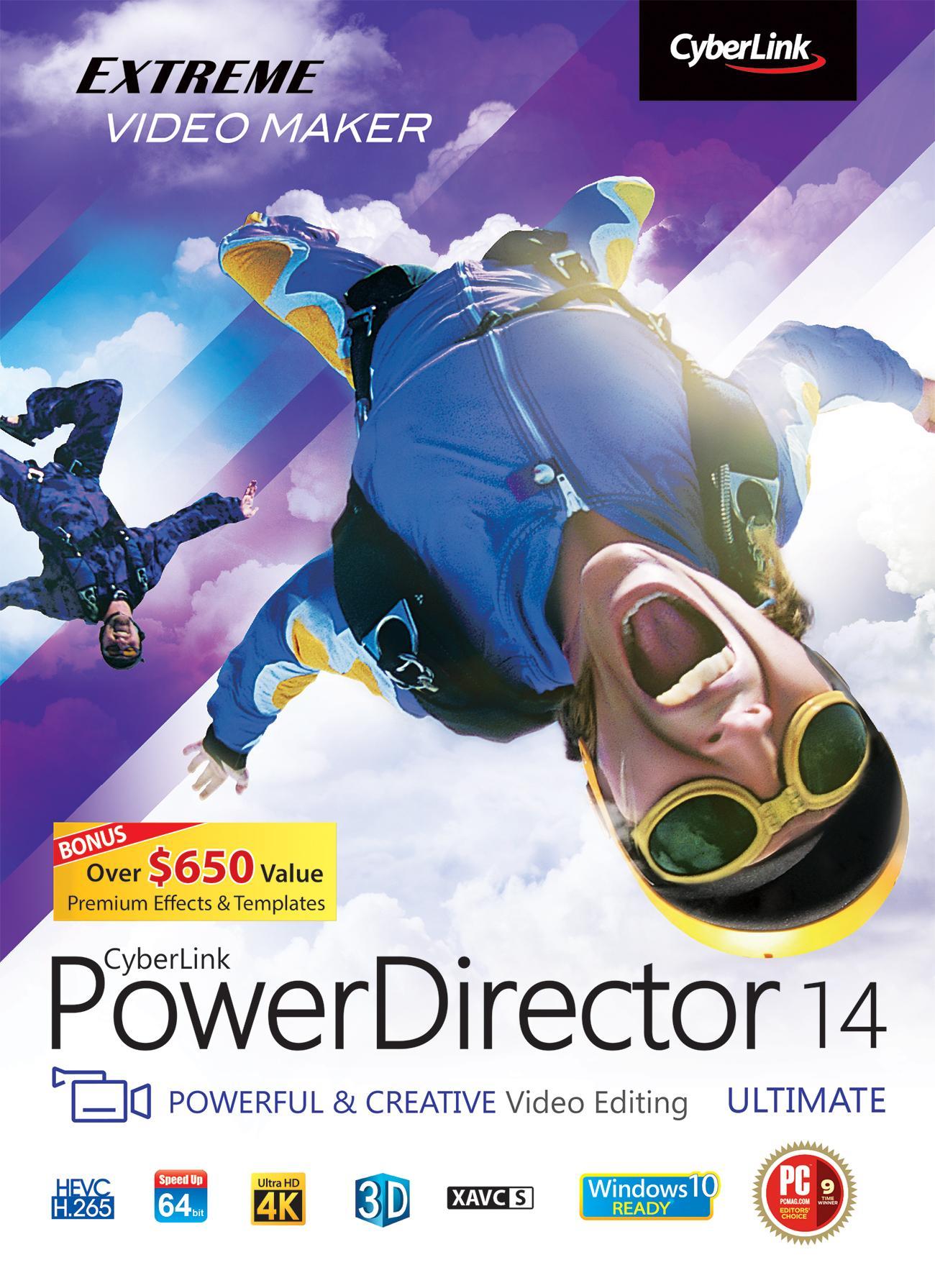 Amazon.com: Cyberlink PowerDirector 14 Ultimate