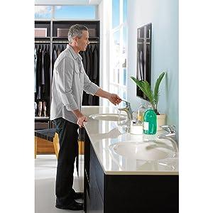 Moen Bathroom Faucet - Easy Water Adjustments