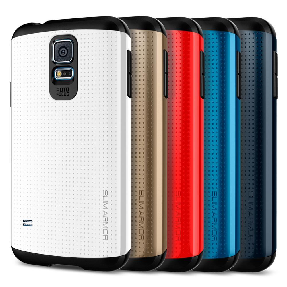 online retailer 71cbd 0f9ae Amazon.com: Spigen Slim Armor Galaxy S5 Case with Air Cushion ...