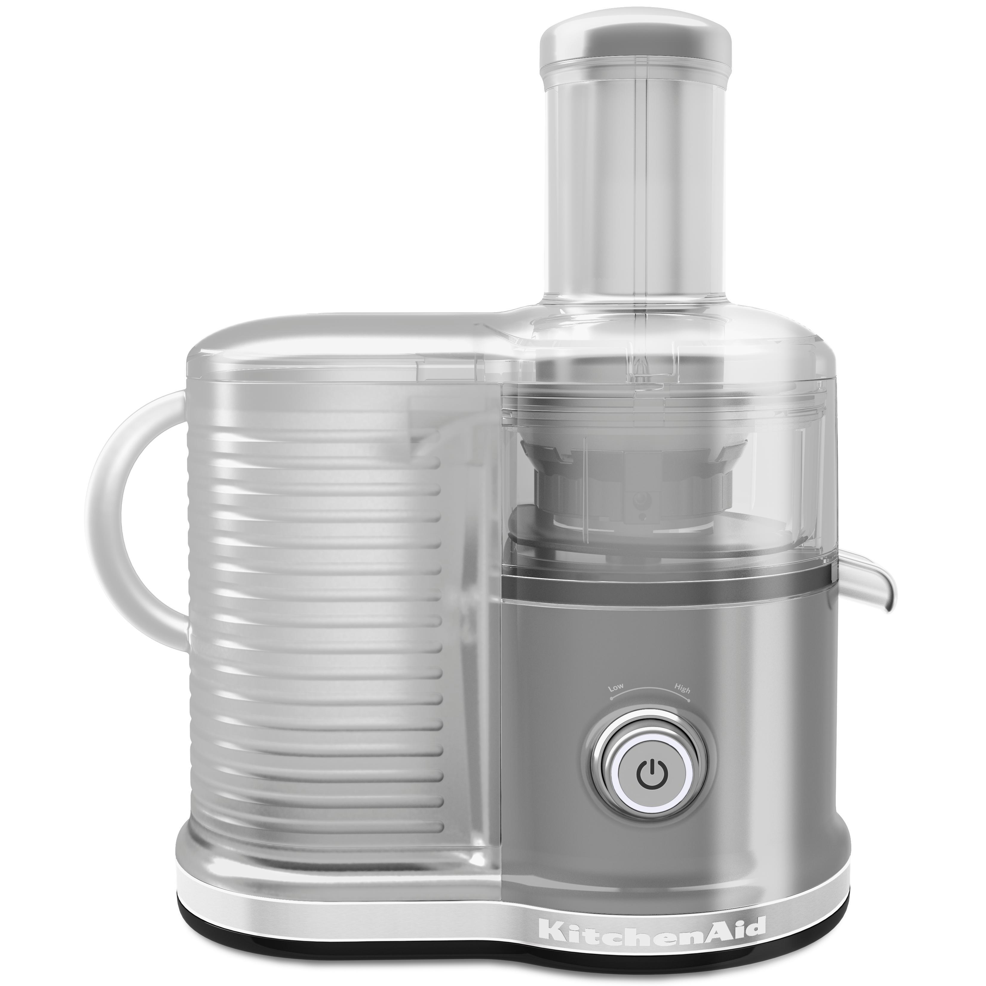 Amazon.com: KitchenAid KVJ0333CU Easy Clean Juicer, Contour Silver ...