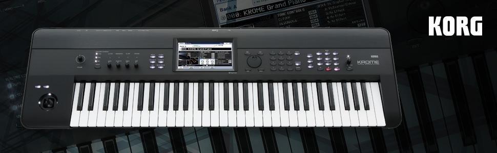 Korg Krome 61 Keyboard Workstation Review : korg krome 61 key music workstation keyboard synthesizer bundle with keyboard ~ Vivirlamusica.com Haus und Dekorationen