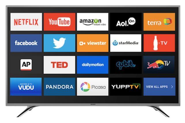 sharp lc 50n5000u 50 inch 1080p smart led tv. Black Bedroom Furniture Sets. Home Design Ideas