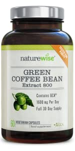 Amazon.com: NatureWise Green Coffee Bean Extract 100% Pure