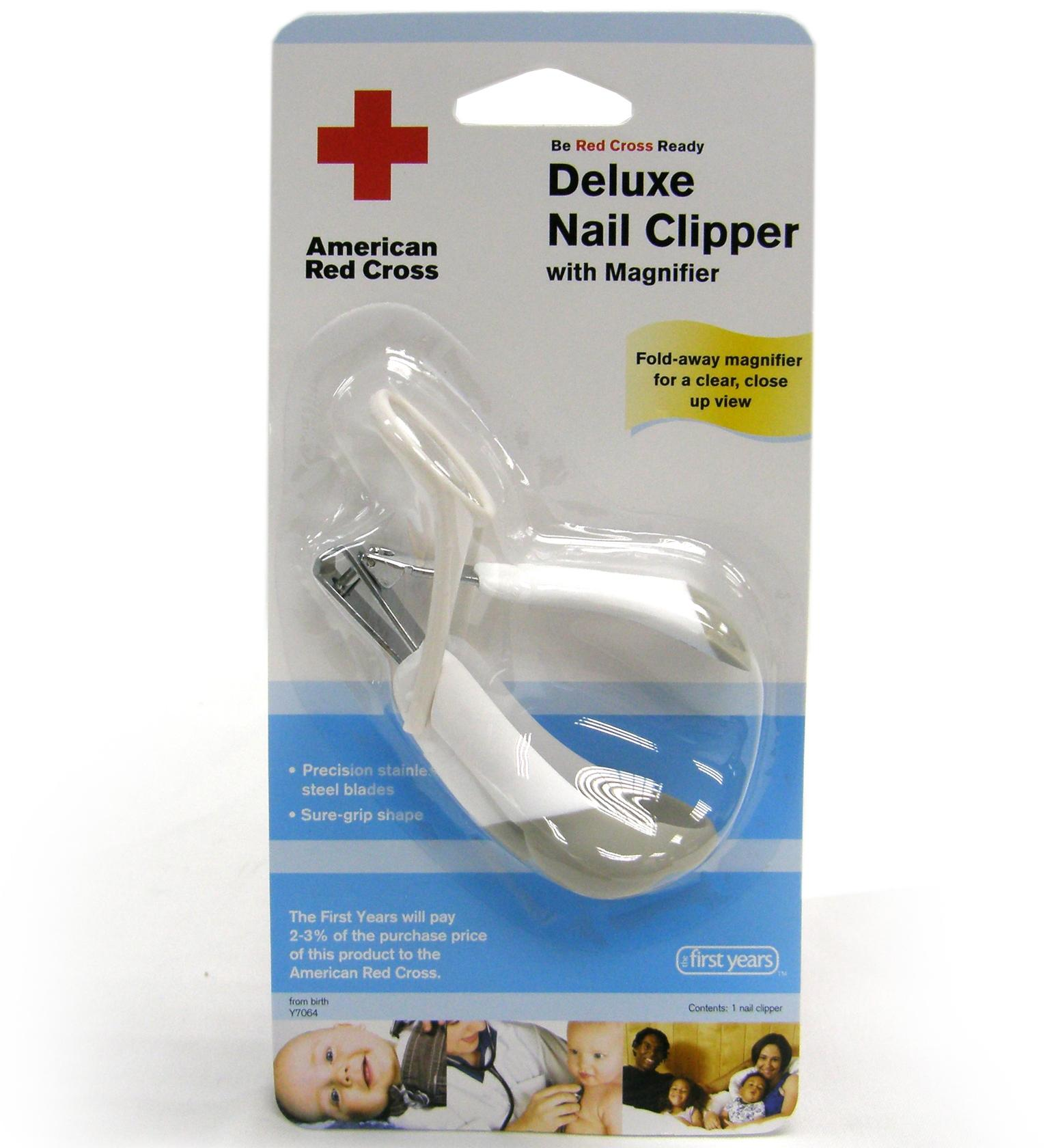 Amazon.com : The First Years American Red Cross Deluxe Nail Clipper ...