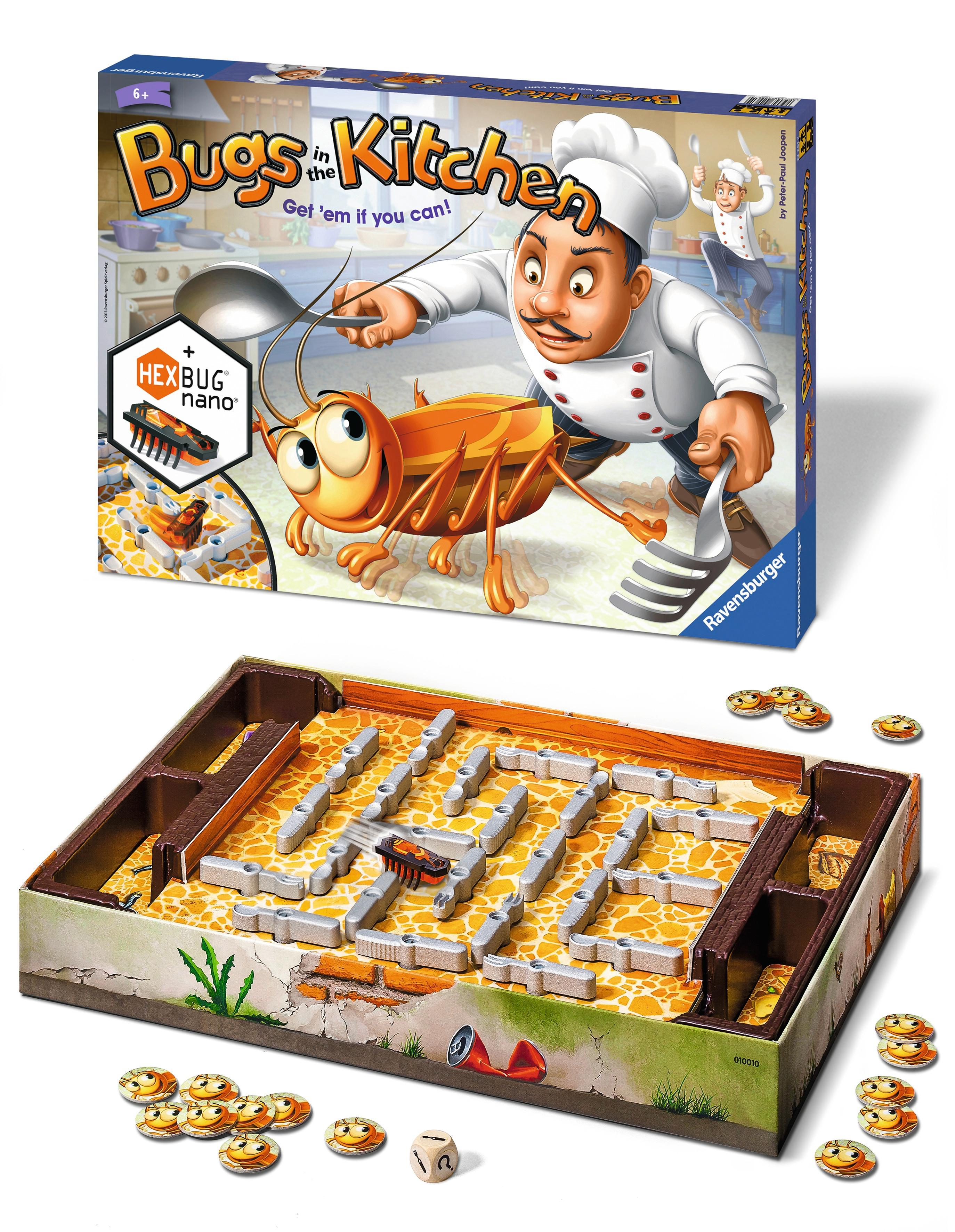 Bugs In The Kitchen Children S Board Game
