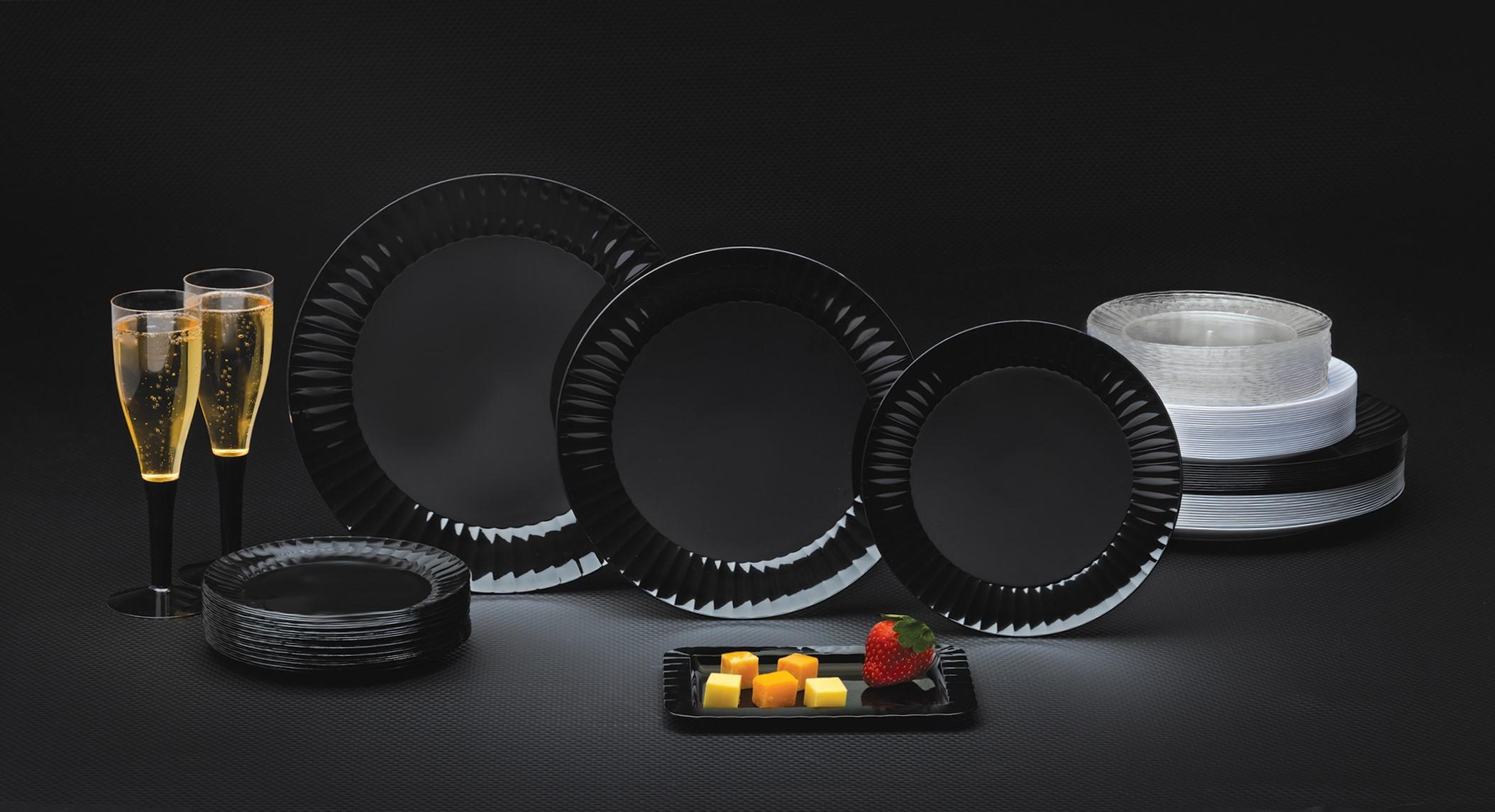 Memorable Party Table Begins with Deluxe Quality Plates from Party