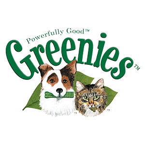 FELINE GREENIES Dental Treats for Cats Logo