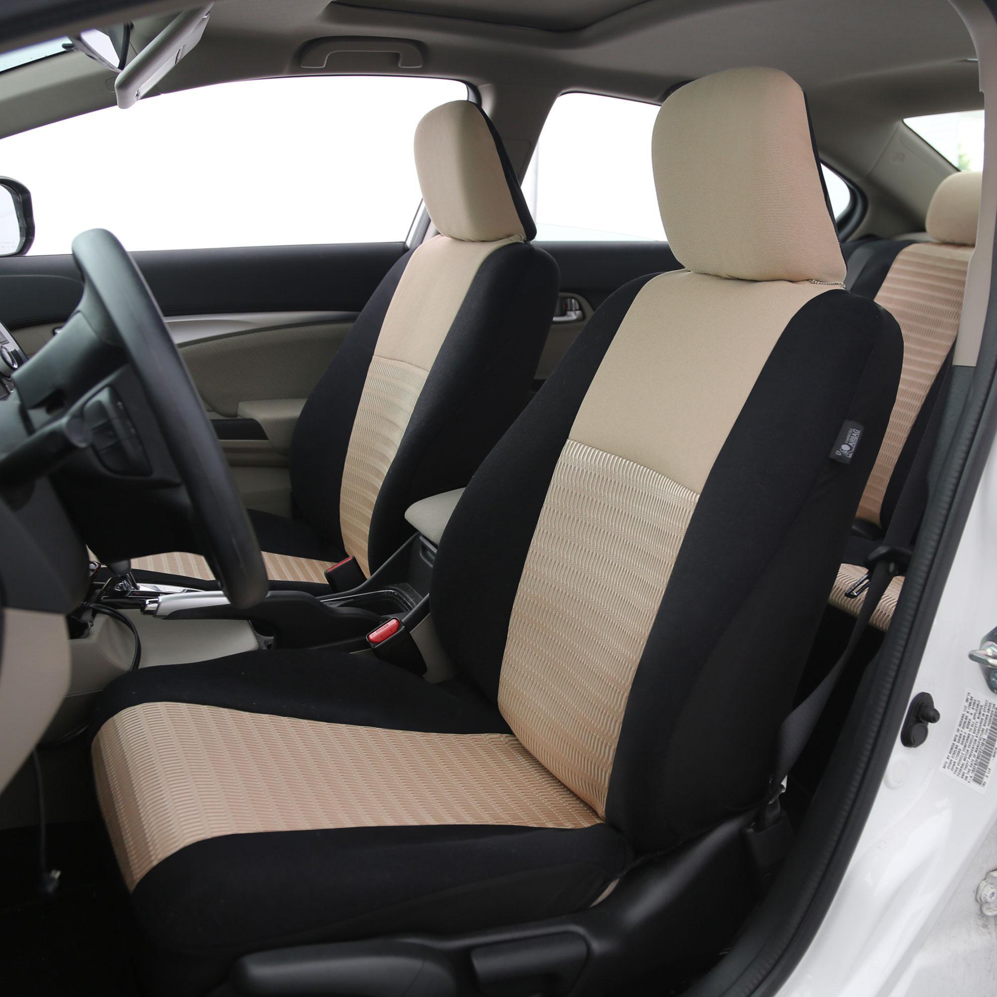 Amazon Com Fh Group Fh Fb102102 Classic Bucket Cloth Car Seat