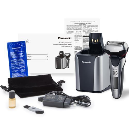 how to clean and service a panasonic shaver