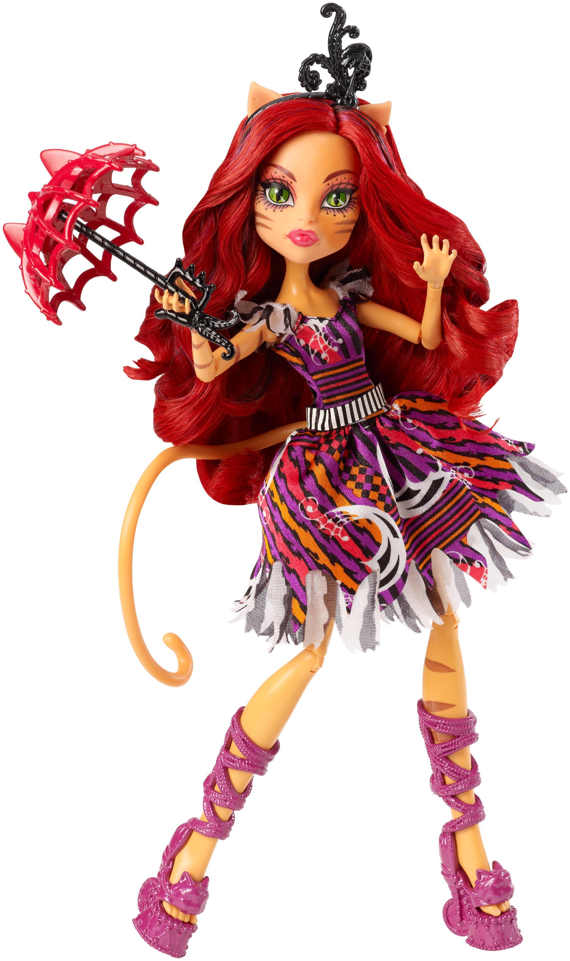 Monster high freak du chic toralei doll toys - Monster high toralei ...