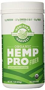 fiber protein vegan